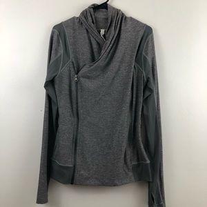 Lululemon Wrap Side Zip Athletic Jacket Size 12